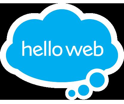 Hello Web Retina Logo